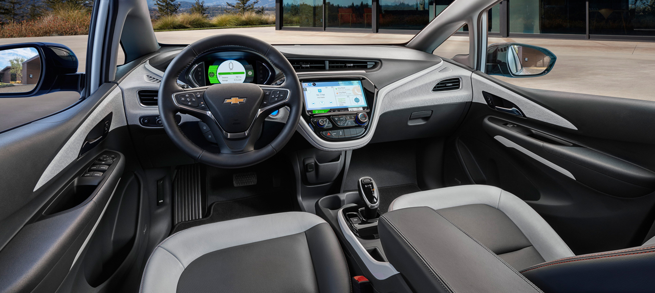 2018 Chevy Bolt Interior