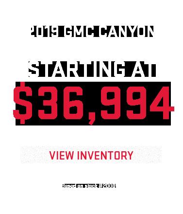 2018 GMC Canyon Finance - Markquart Motors, Eau Claire WI