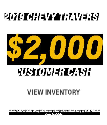 2018 Chevy Traverse Lease - Markquart Motors, Eau Claire WI