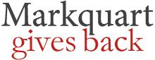 Markquart Gives Back