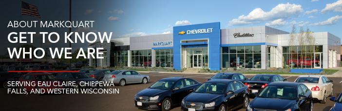 Markquart Motorss - Chevy, Buick, and GMC Dealer in Eau Claire